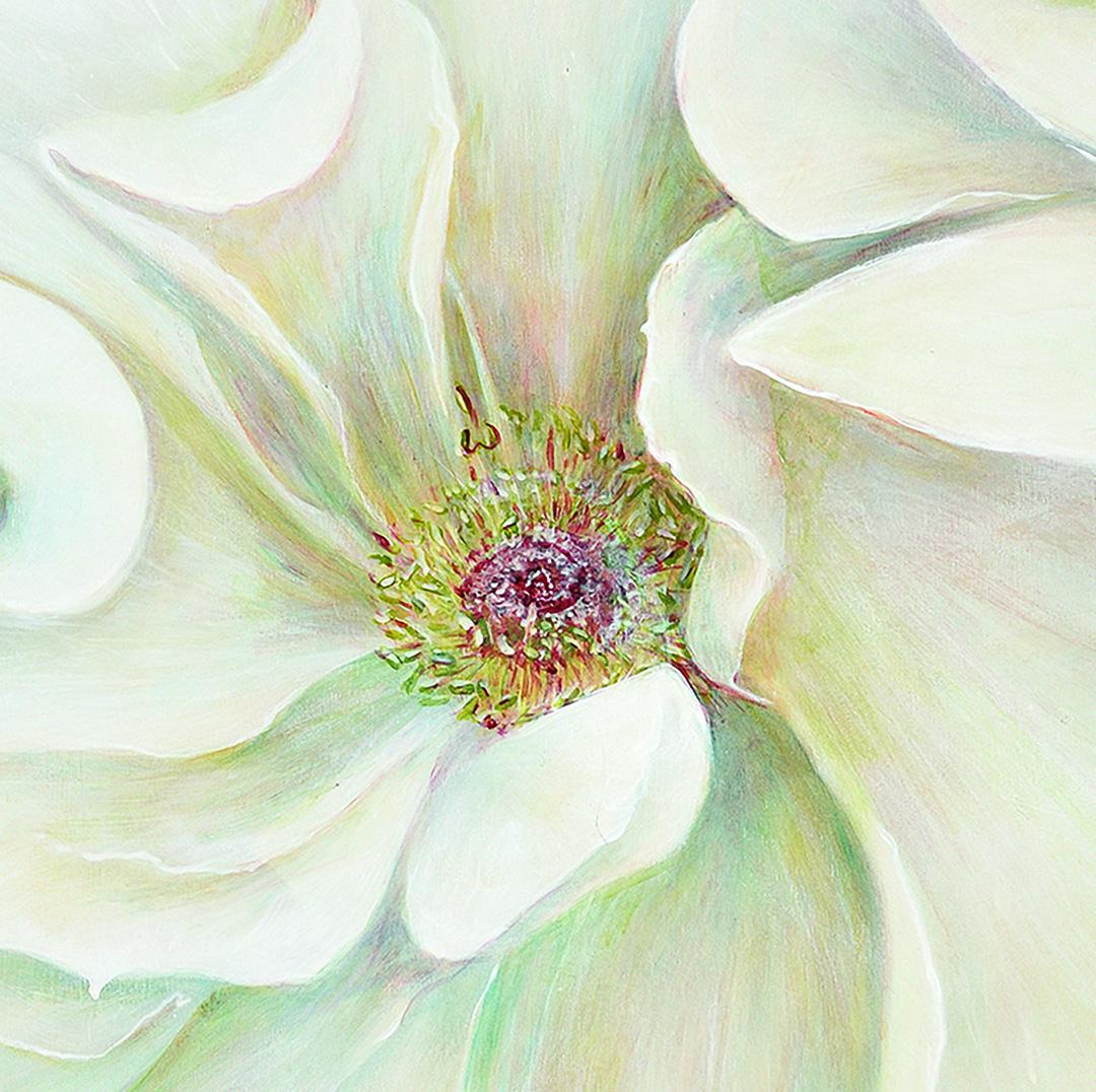 Great White Rose 1, detail