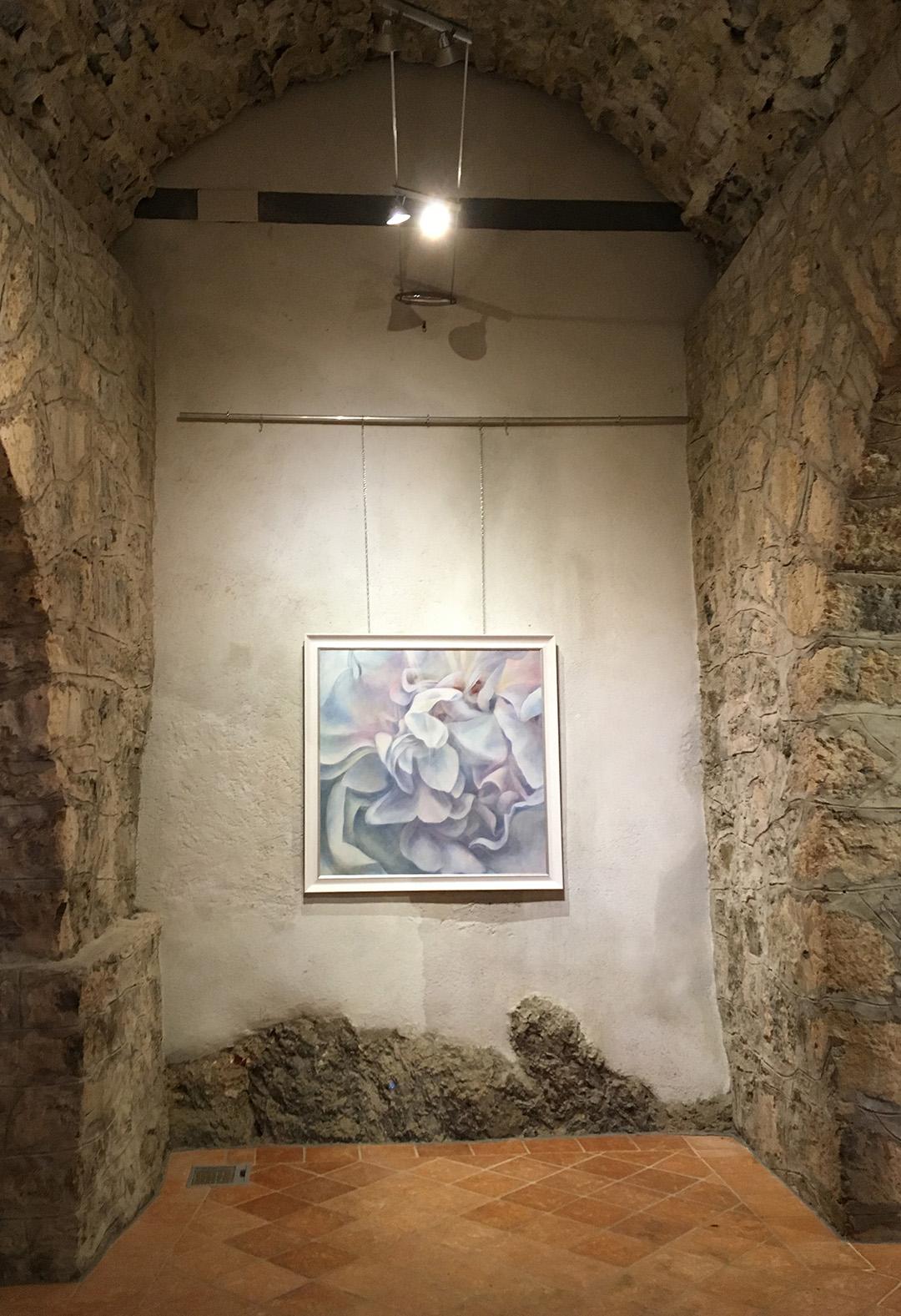 Great White Rose 3, castle Snežnik Exhibition