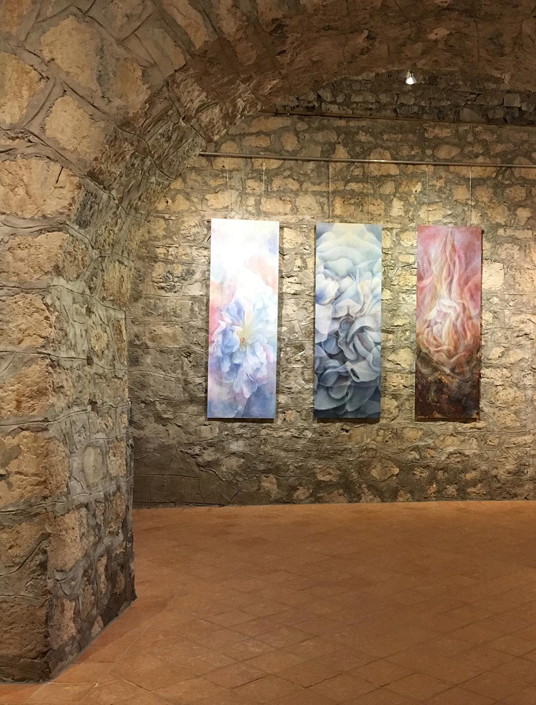 Trilogy Great White Roses - The secret of 369, castle Snežnik Exhibition