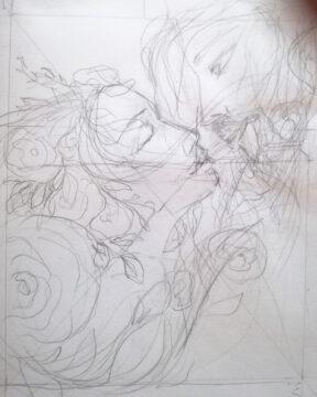 Kiss, sketch